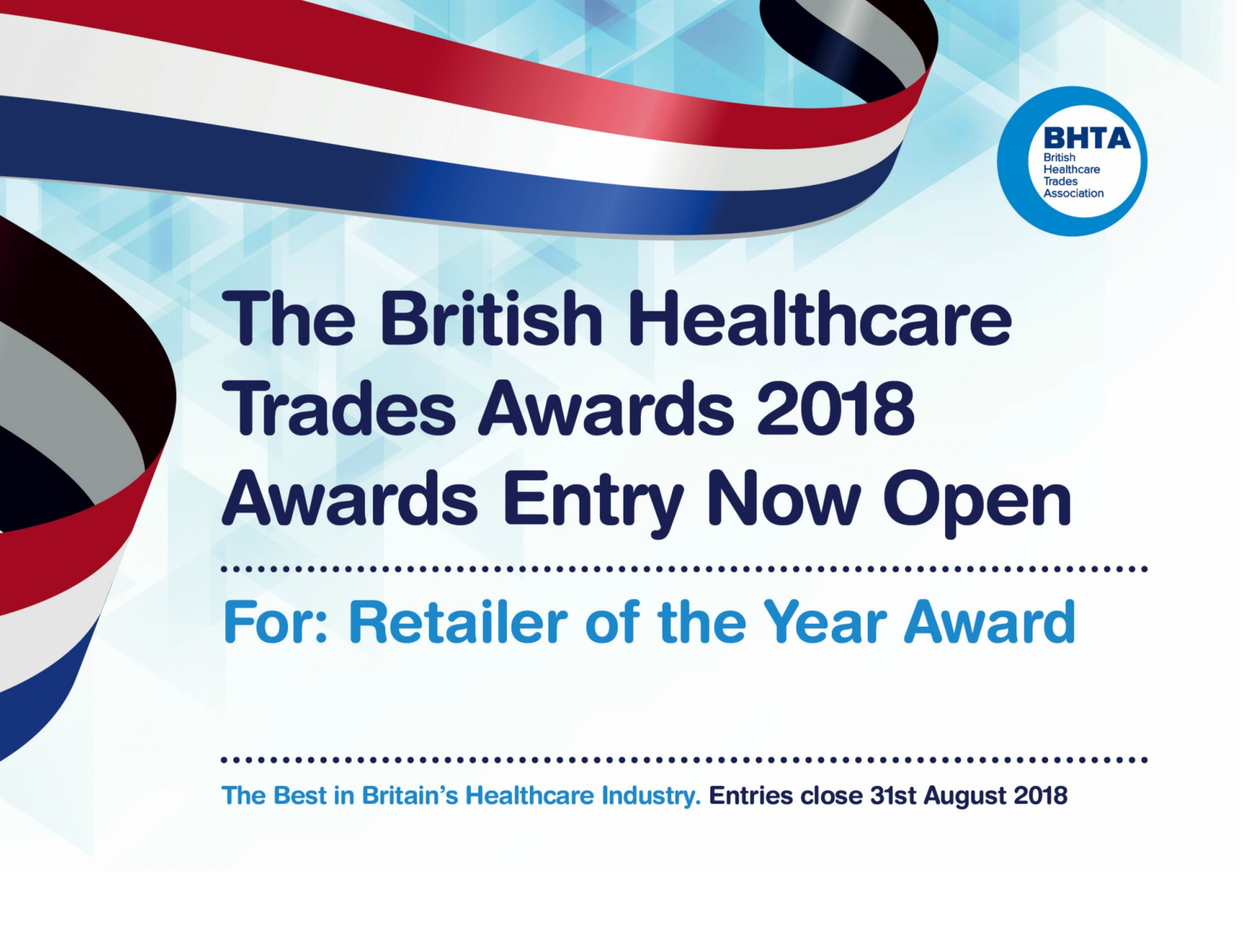 BHTA Retailer of the Year – Calling Healthcare Professionals to Nominate