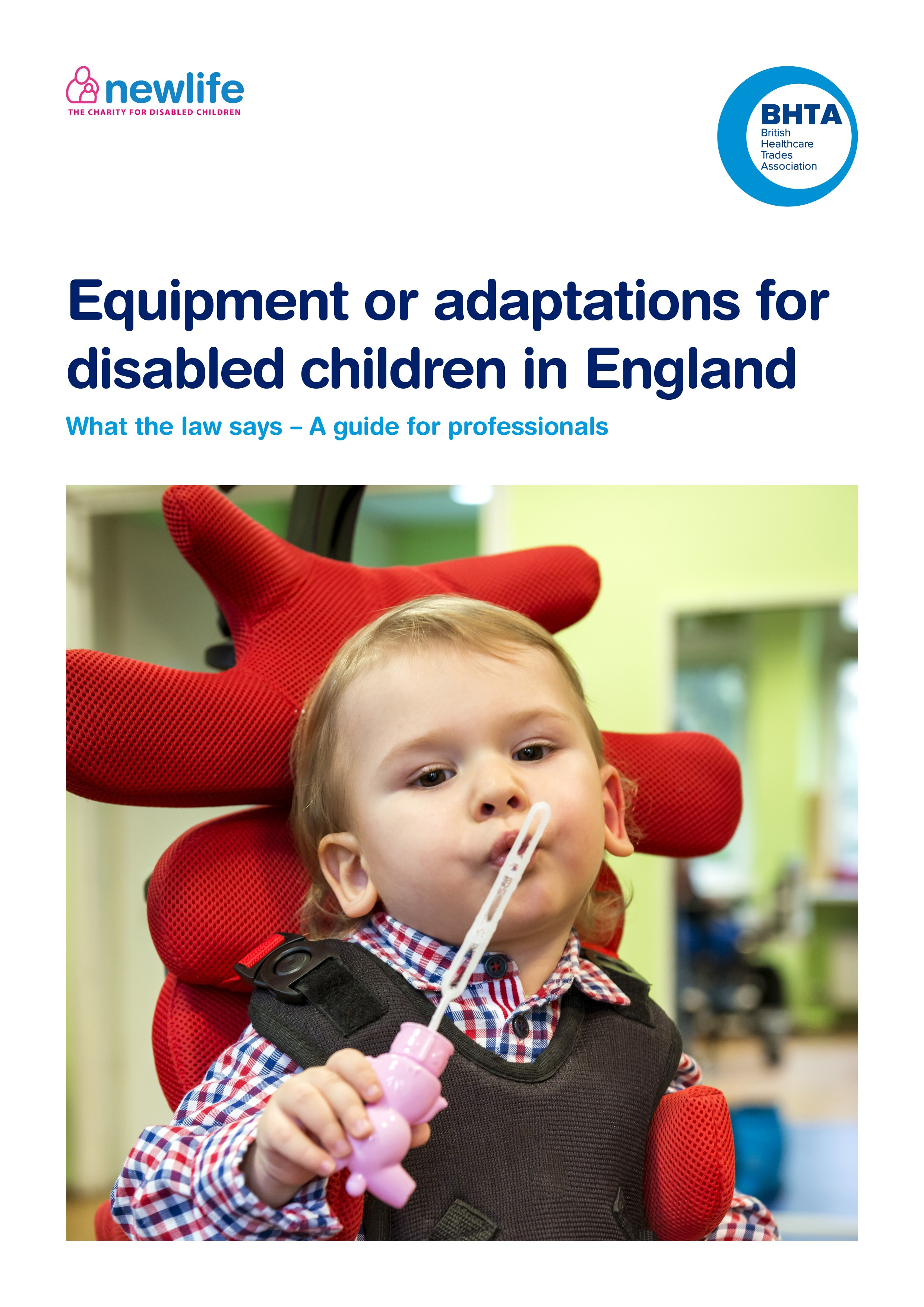 Equipment or Adaptations for Disabled Children in England