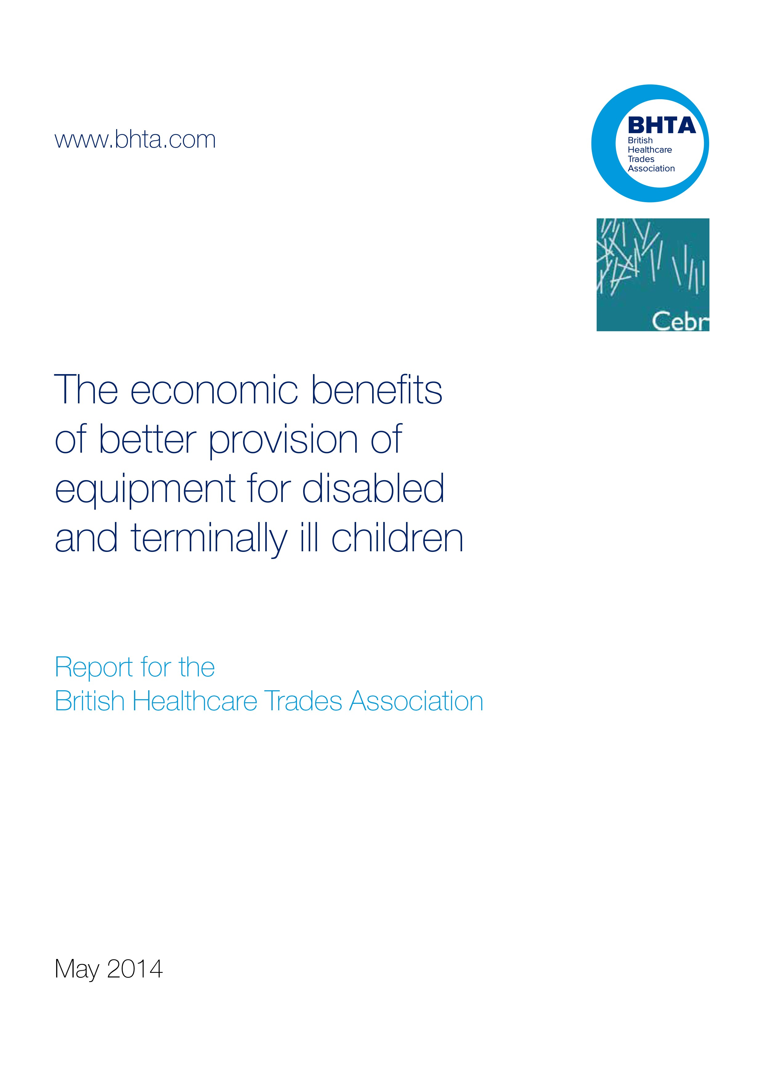Benefits of Better Provision for Children's Equipment
