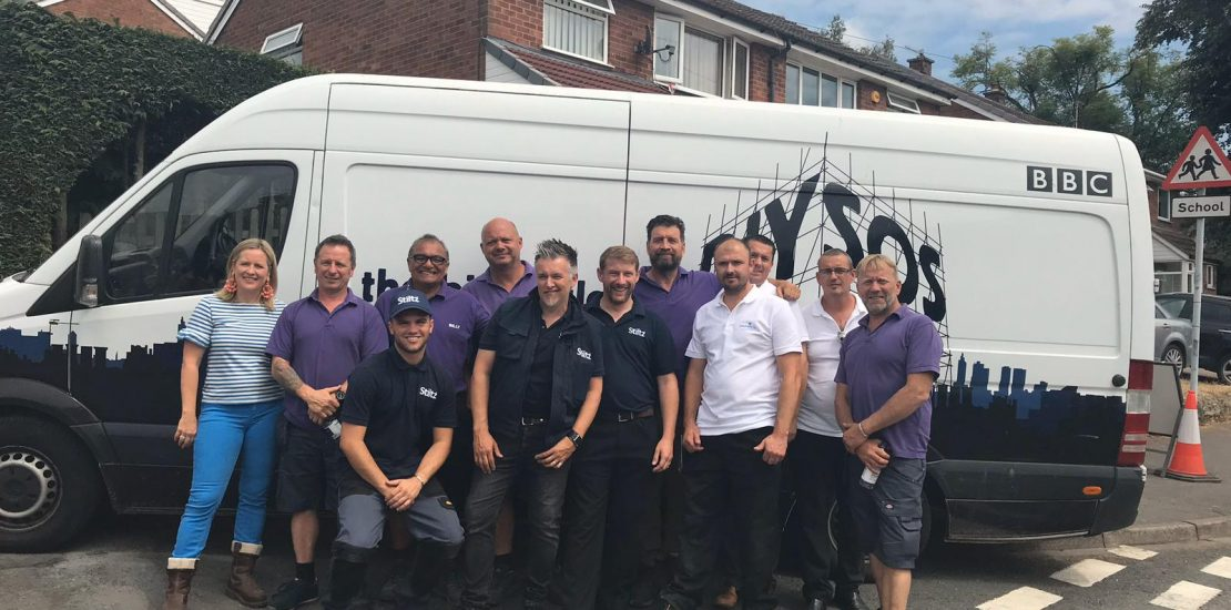 Dolphin Lifts Midlands Adds Finishing Touch to DIYSOS Project