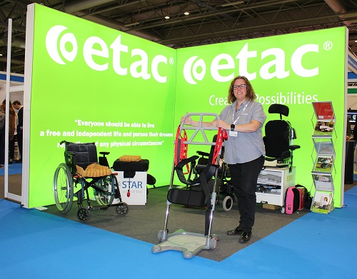 ETAC R82 to Showcase Innovations in Standing, in-Bed Transfers and Seating at RCOT Annual Conference