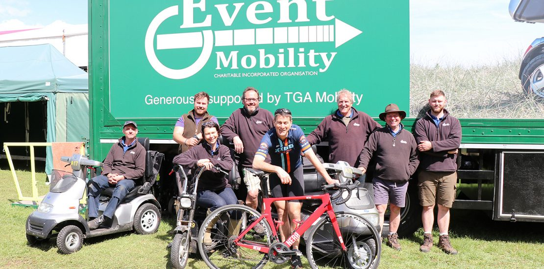 Supported by TGA, Dr Warren to Cycle 1173 Miles from Land's End to John O'Groats in 11 Days for Event Mobility Charity