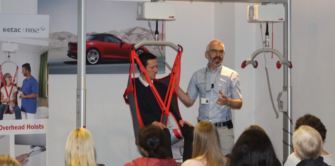 Molift Paediatric Hoisting Seminar from ETAC R82 Achieves High Attendance at Kidz to Adultz Middle