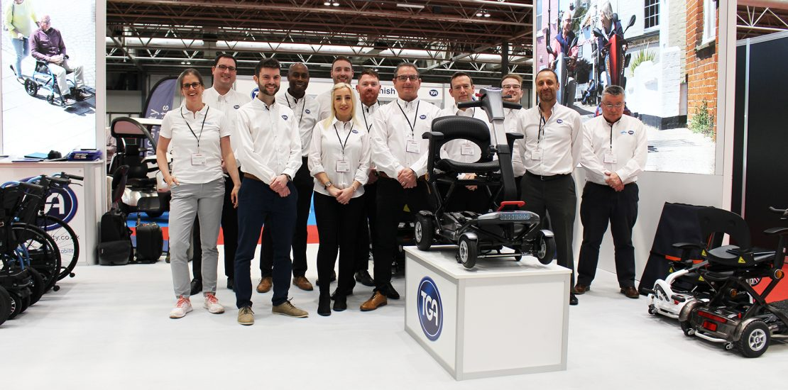 TGA Minimo Autofold Launch and Scooter Test Track Deliver Naidex Show Highlight
