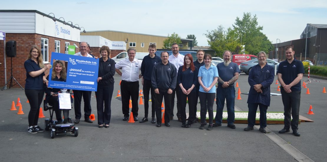 Hereford's TPG DisableAids Safe Scoot Day a Success with TGA Mobility
