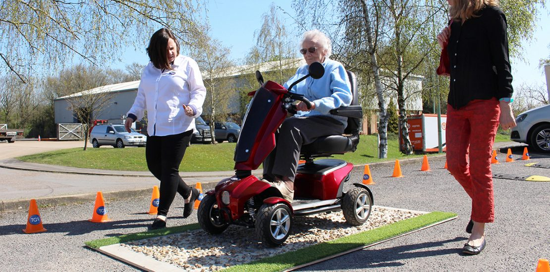 TGA Mobility Test Track at Naidex Promises Unmissable Experience