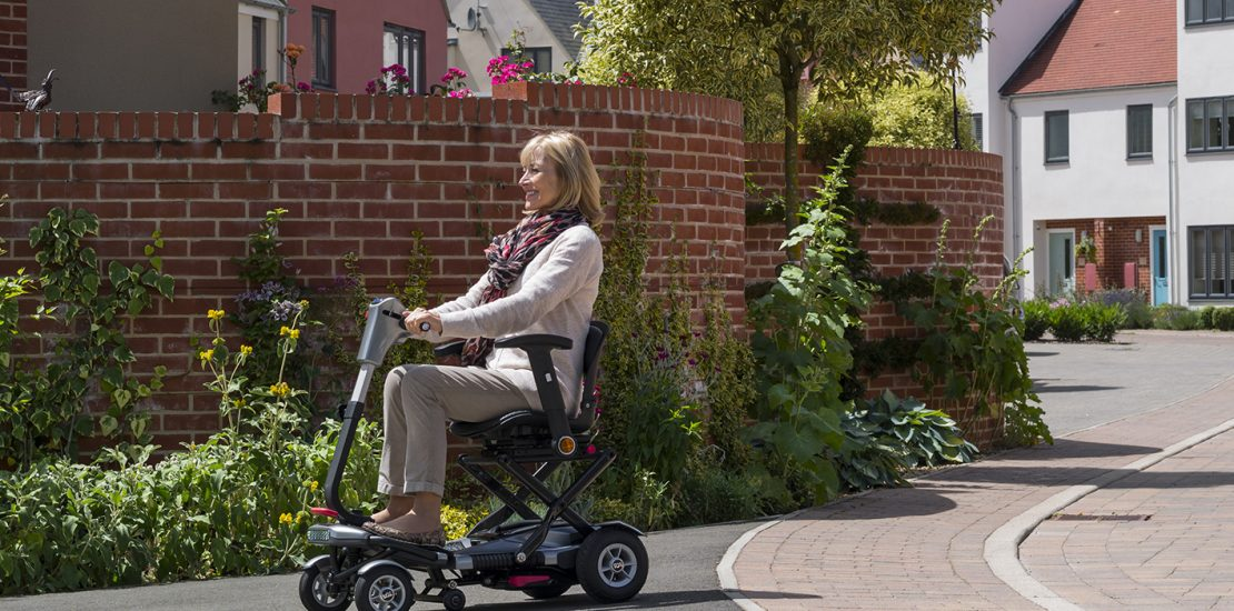 TGA to Launch Minimo AutoFold Mobility Scooter at Naidex