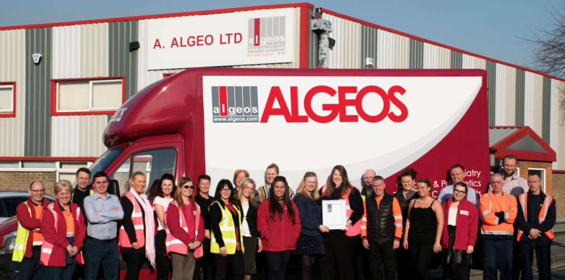 Algeos Awarded the Prestigeous Investors in People Silver Accreditation