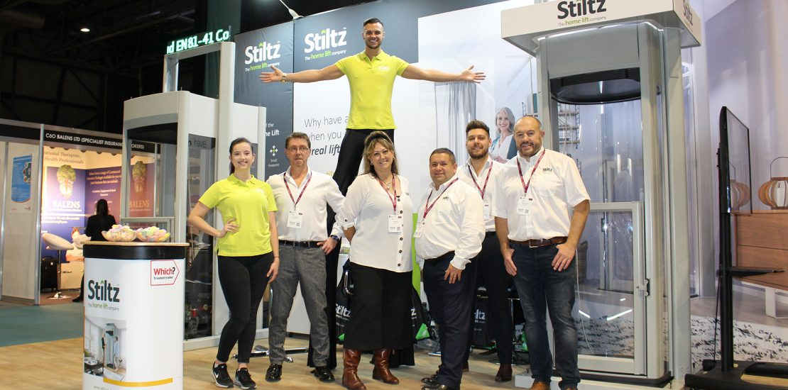 Stiltz Homelifts Synergise with OT Show Professionals to Deliver Positive Outcomes
