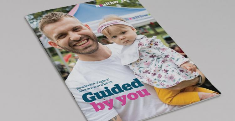 Healthwatch England publishes 2019 annual report to Parliament