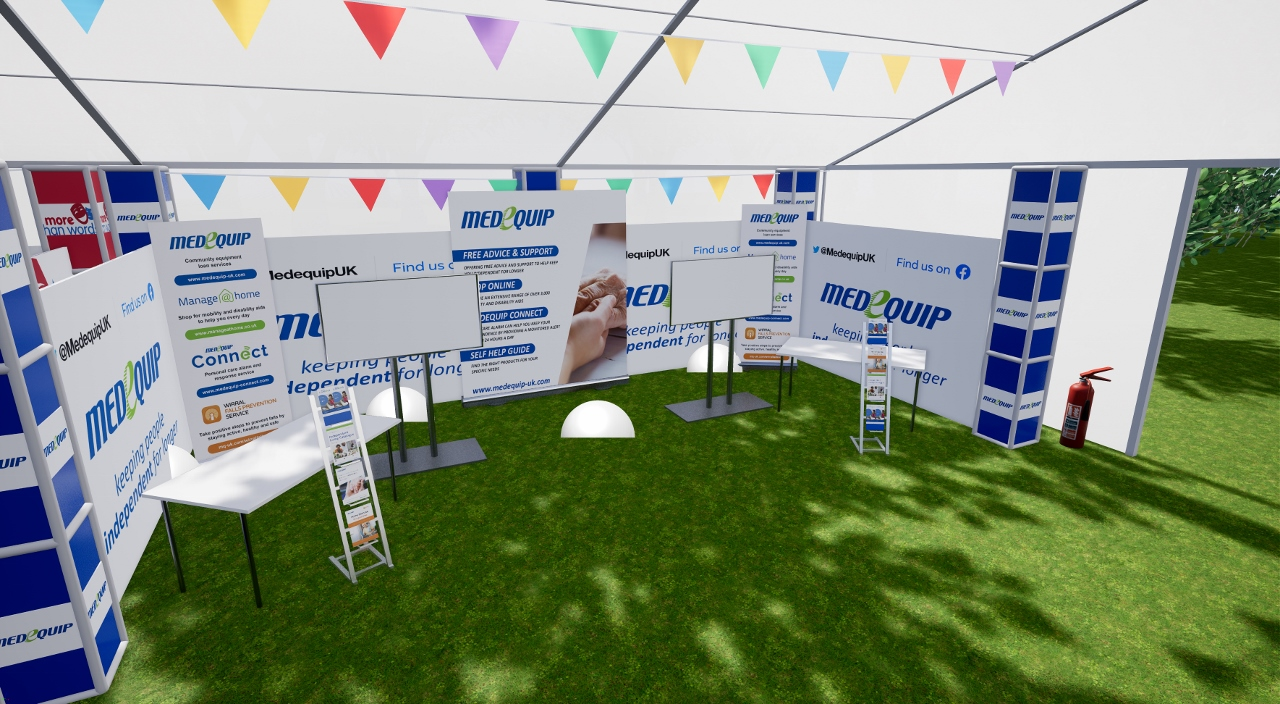 Medequip takes a Step into the Virtual World at this Year's Disability Awareness Day