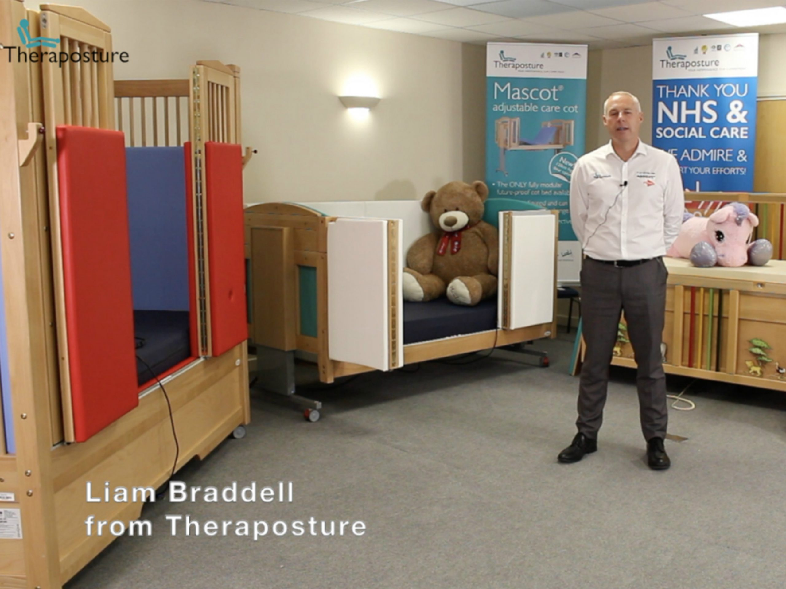 Theraposture to Showcase Award-winning Adjustable Cot Beds and Unmissable Video Seminar at Kidz Virtual