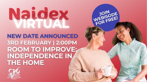 Naidex Virtual - New dates Announced