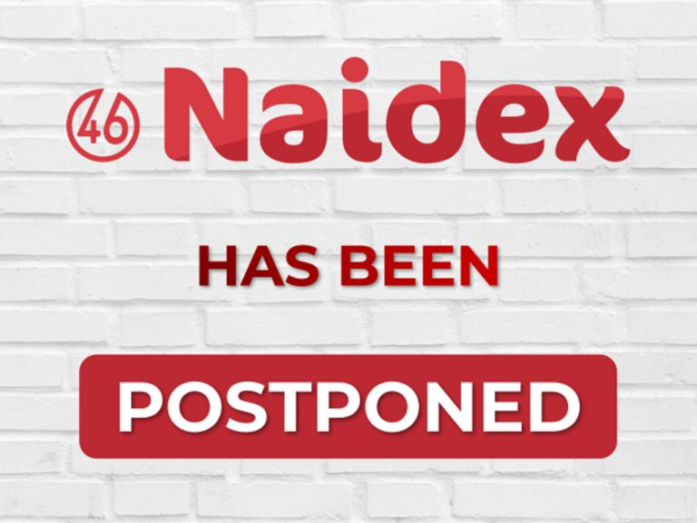 Naidex moved to 15th & 16th September 2021