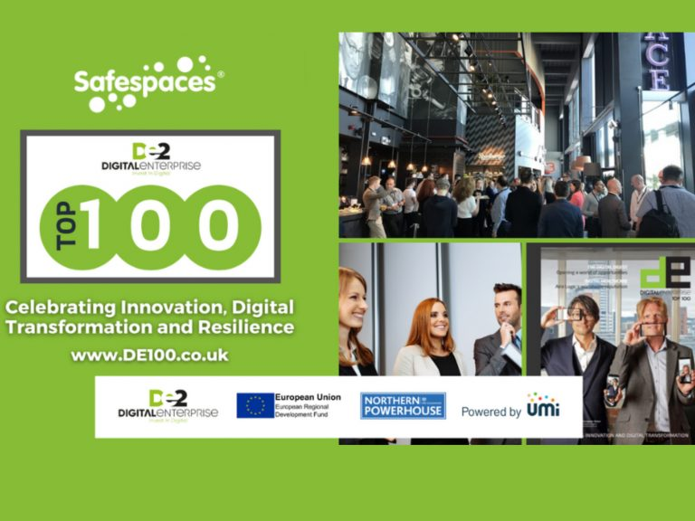 Safespaces Announced as One of Leeds City Region's Top 100 Digital Tech Adopters
