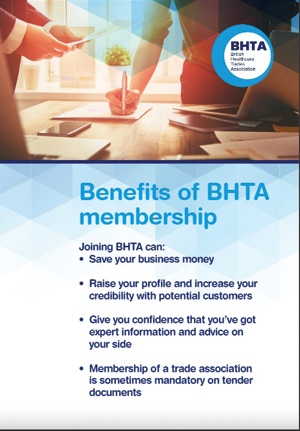 BHTA Full Suite of Benefits 2020 front cover